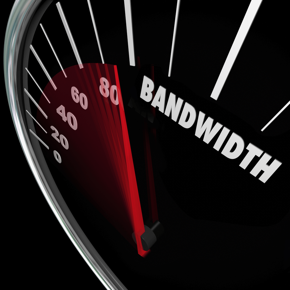 Bandwidth Speedometer